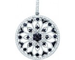 Diamond Fashion Pendant 10K White Gold 0.48 cts. GD-57447