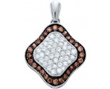 Diamond Fashion Pendant 10K Gold 1.00 ct. GD-58888