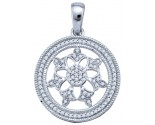 Diamond Fashion Pendant 10K White Gold 0.25 cts. GD-64857