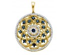 Diamond Fashion Pendant 10K Yellow Gold 0.50 cts. GD-65874