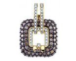 Diamond Fashion Pendant 10K Yellow Gold 2.27 cts. GD-72082