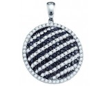 Diamond Fashion Pendant 14K White Gold 2.23 cts. GD-72198