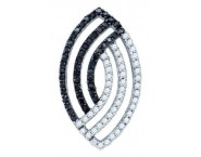 Diamond Fashion Pendant 10K White Gold 0.51 cts. GD-72239