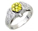 Ladies Diamond Ring 14K White Gold 1.10 cts. A56-R0441-WY