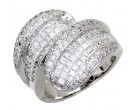 Diamond Cocktail Ring 14K White Gold 2.75 cts. A64-R0772