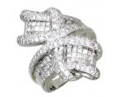Diamond Cocktail Ring 14K White Gold 2.20 cts. A64-R0783
