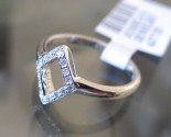 Ladies Diamond Knuckle Ring 14K White Gold 0.08 cts. 6J7726