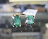 Emerald Open Ring 14K Yellow Gold 1.05 cts. 6J8001