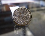 Diamond Pave Ring 14K Yellow Gold 0.75 cts. 6J8152