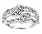 Ladies Diamond Fashion Ring 14K White Gold 0.50 cts. CL-63982