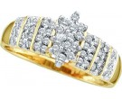 Ladies Diamond Fashion Ring 10K Gold 0.25 cts. GD-10892