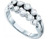 Ladies Diamond Fashion Ring 14K White Gold 1.00 ct. GD-26107