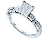 Diamond Fashion Ring 14K White Gold 0.25 cts. GD-34199