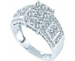 Ladies Diamond Fashion Band 14K White Gold 1.00 ct. GD-44580