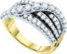 Ladies Diamond Fashion Band 14K White Gold 1.51 cst. GD-45593