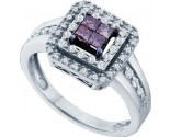 Ladies Diamond Fashion Ring 14K White Gold 0.50 cts. GD-47037