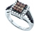 Ladies Diamond Fashion Ring 14K White Gold 1.00 ct. GD-47041