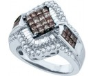 Ladies Diamond Fashion Ring 14K White Gold 1.50 cts. GD-47191