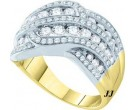 Ladies Diamond Fashion Band 14K White Gold 1.50 cts. GD-47439