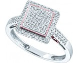 Ladies Diamond Fashion Ring 10K White Gold 0.30 cts. GD-51152