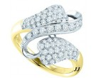 Ladies Diamond Fashion Ring 14K White Gold 1.00 ct. GD-51193