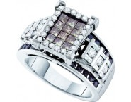 Ladies Diamond Fashion Ring 14K White Gold 2.00 ct. GD-51575 [GD-51575]