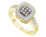 Ladies Diamond Fashion Ring 14K Yellow Gold 0.25 cts. GD-51840