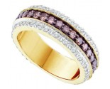 Chocolate Diamond Band 14K Yellow Gold 1.43 cts. GD-51958
