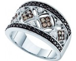 Ladies Diamond Anniversary Band 14K White Gold 0.50 cts. GD-53125
