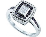 Ladies Diamond Fashion Ring 14K White Gold 0.50 cts. GD-53279