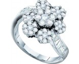 Ladies Diamond Fashion Ring 14K White Gold 1.75 cts. GD-53832