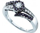 Ladies Diamond Fashion Ring 14K White Gold 0.52 cts. GD-54182