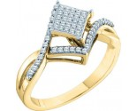 Ladies Diamond Fashion Ring 10K Gold 0.25 cts. GD-55949