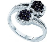 Ladies Diamond Fashion Ring 14K White Gold 0.53 cts. GD-57498