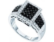 Ladies Diamond Fashion Ring 14K White Gold 0.63 cts. GD-57503