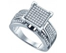 Ladies Diamond Fashion Ring 10K White Gold 0.33 cts. GD-57709