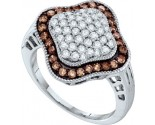 Ladies Diamond Fashion Ring 10K Gold 1.00 ct. GD-58867