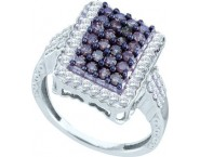 Ladies Diamond Fashion Ring 10K White Gold 1.00 ct. GD-58865 [GD-58865]