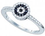 Ladies Diamond Fashion Ring 10K White Gold 0.30 cts. GD-60368