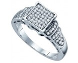 Ladies Diamond Fashion Ring 10K White Gold 0.25 cts. GD-63805