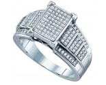 Ladies Diamond Fashion Ring 10K White Gold 0.33 cts. GD-64755