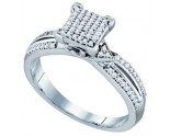 Ladies Diamond Fashion Ring 10K White Gold 0.25 cts. GD-64994