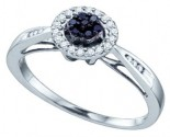 Ladies Diamond Fashion Ring 10K White Gold 0.20 cts. GD-65252