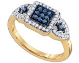 Ladies Diamond Fashion Ring 10K Gold 0.50 cts. GD-65773