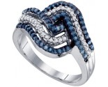 Ladies Diamond Fashion Ring 10K White Gold 0.50 cts. GD-65872