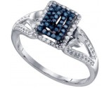 Ladies Diamond Fashion Ring 10K White Gold 0.16 cts. GD-65971