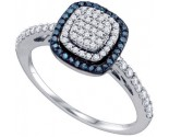 Ladies Diamond Fashion Ring 10K White Gold 0.43 cts. GD-65985