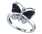 Ladies Diamond Fashion Ring 10K White Gold 0.23 cts. GD-70938