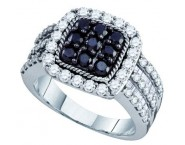 Ladies Diamond Fashion Ring 10K White Gold 2.01 cts. GD-70949