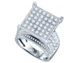 Ladies Diamond Fashion Ring 10K White Gold 1.85 cts. GD-71715